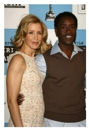 Felicity Huffman and Don Cheadle
