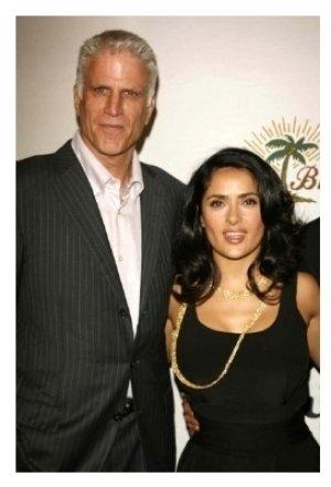 Ted Danson and Salma Hayek