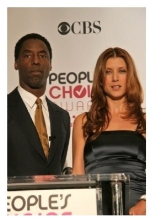 Isaiah Washington and Kate Walsh