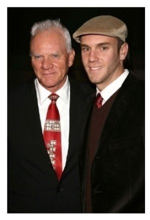 Malcolm McDowell and Charlie McDowell