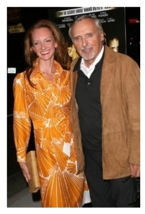 Victoria Duffy and Dennis Hopper