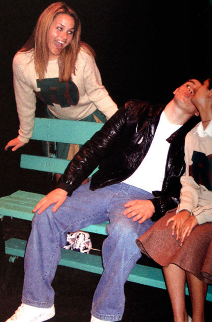 Dianna Agron, high school play