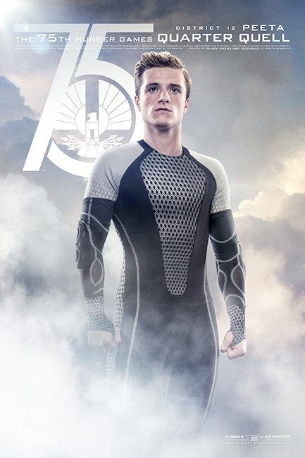 Hunger Games: Catching Fire Poster Peeta