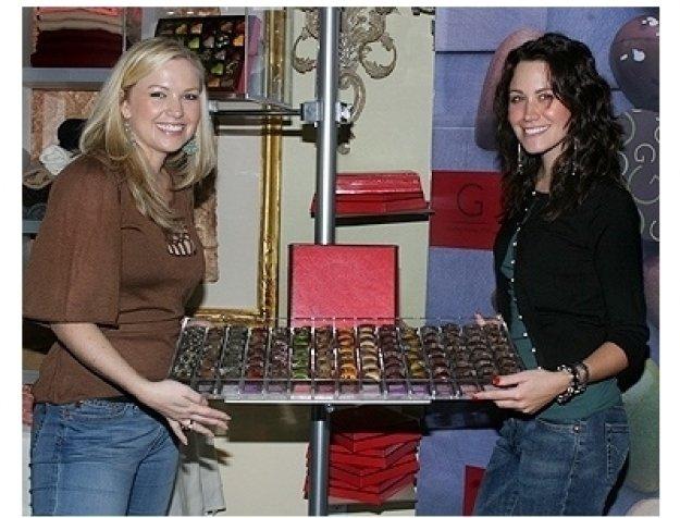 2006 HBO Luxury Lounge Photos: Margi Blash and Kimberly Lansing at Godiva