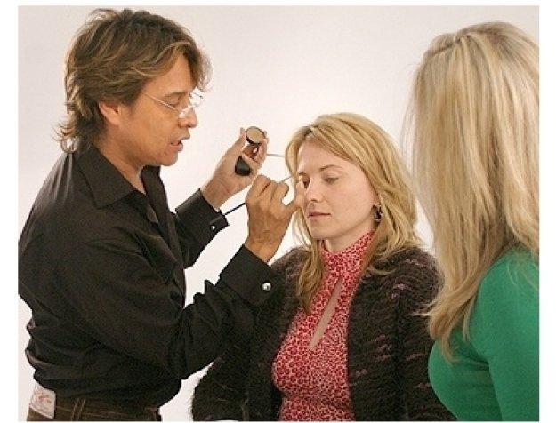 Lucy Lawless Photo Shoot: Daryl Redleaf, Lucy Lawless and Margi Blash