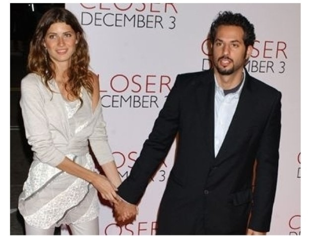 Guy Oseary and guest at the Closer premiere