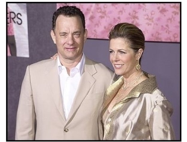 """Tom Hanks and Rita Wilson at """"The Ladykillers"""" premiere"""