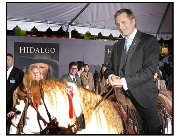 "Viggo Mortensen arrives on Hidalgo at the ""Hidalgo"" premiere"