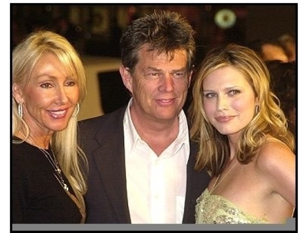 "David Foster with wife Linda and daughter Sara  at ""The Big Bounce"" premiere"