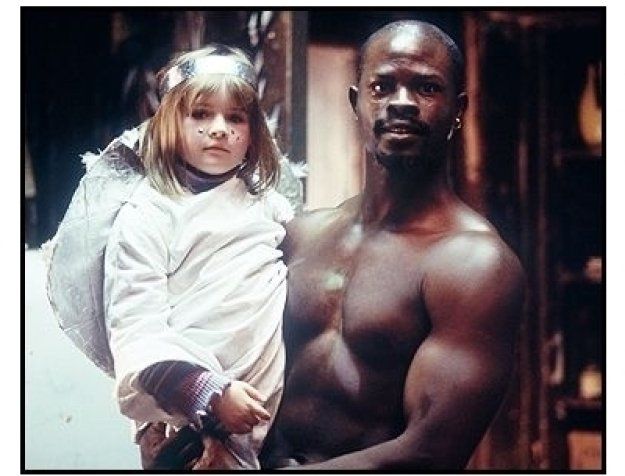 """In America"" Movie Still: Emma Bolger and Djimon Hounsou"