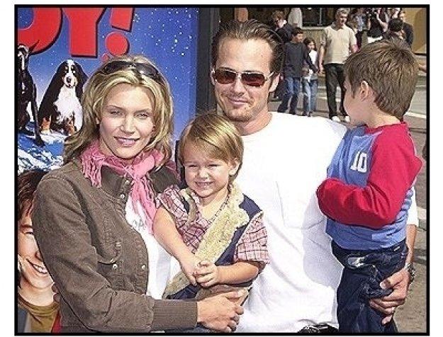 "Natasha Henstridge and family at the ""Good Boy!"" Premiere"