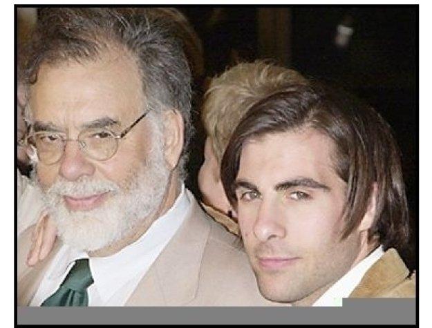 "Francis Ford Coppola and Jason Schwartzman at the ""Spun"" Premiere"