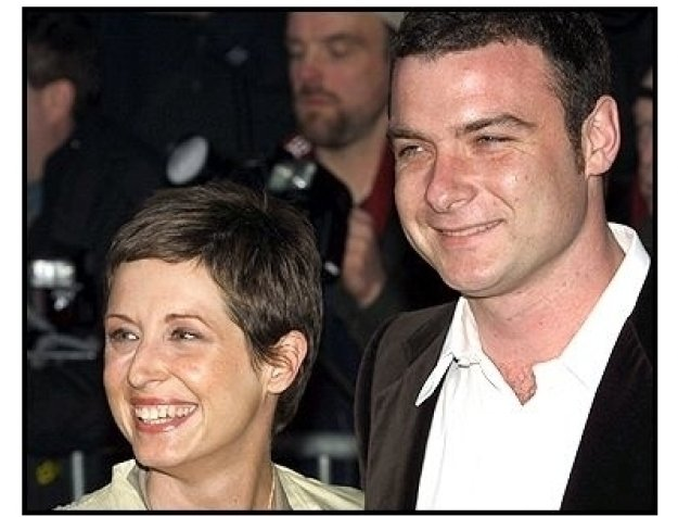 Cathy Konrad and Liev Schreiber at The Sweetest Thing premiere