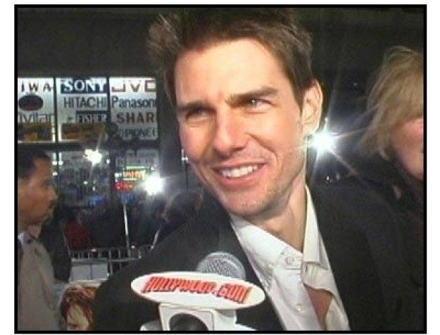 """Vanilla Sky"" Premiere Video Still: Tom Cruise"