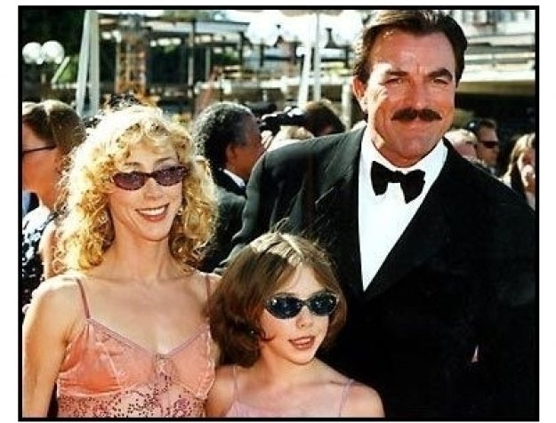 Tom Selleck and family at the 2000 Creative Arts Emmys
