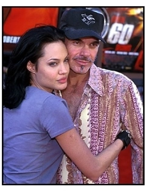 Angelina Jolie and Billy Bob Thornton at the Gone in 60 Seconds premiere
