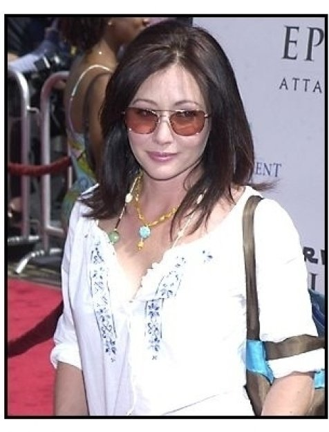 Shannen Doherty at the Star Wars Episode II premiere