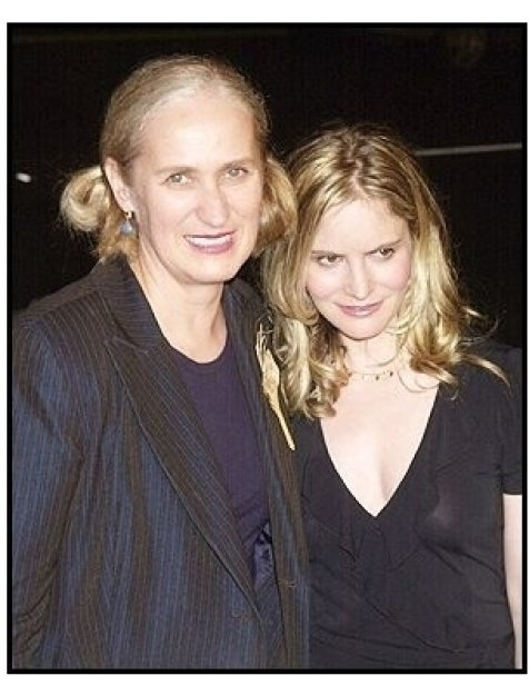 """Director Jane Campion and Jennifer Jason Leigh at the """"In the Cut"""" premiere"""