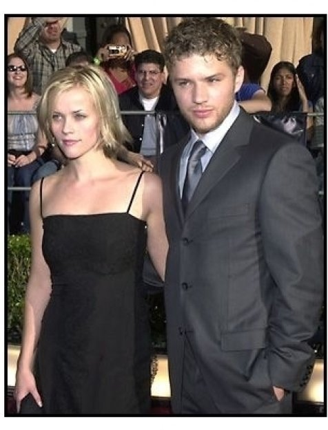 Reese Witherspoon and Ryan Phillippe at the 2002 SAG Screen Actors Guild Awards