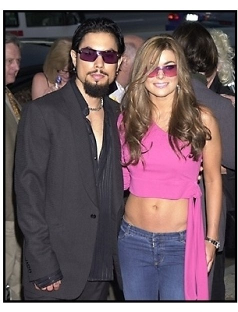 Dave Navarro and Carmen Electra at The Others premiere
