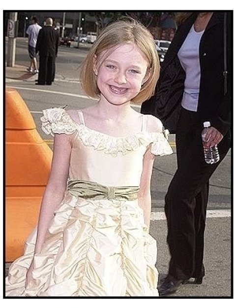 "Dakota Fanning at the ""Man on Fire"" Premiere"