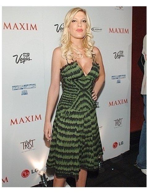 Maxim 100th Issue Party Photos:  Tori Spelling