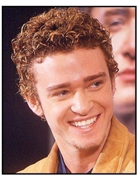 'N Sync member Justin Timberlake at the 'N Sync-MSN Press Conference 2