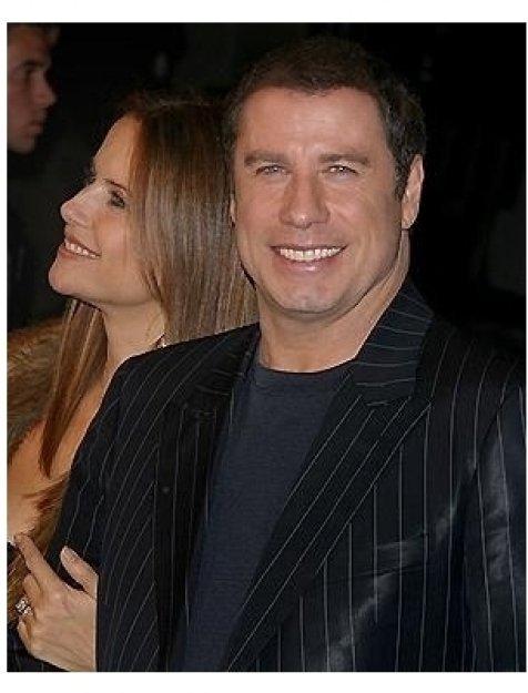 Be Cool Premiere: John Travolta and Kelly Preston