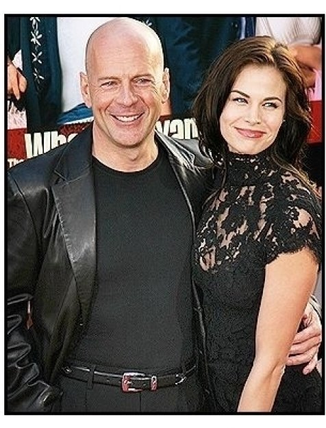 """Bruce Willis and Brooke Burns at """"The Whole Ten Yards"""" Premiere"""