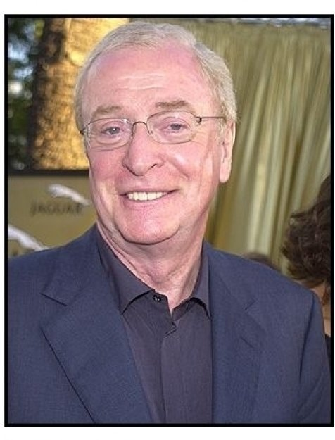 Austin Powers in Goldmember Premiere: Michael Caine