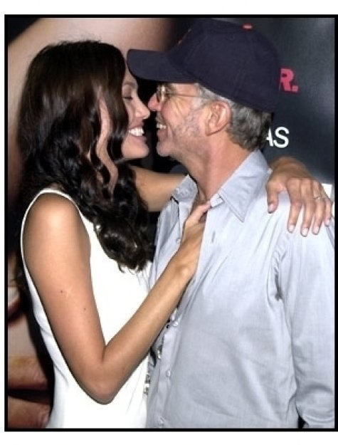 Angelina Jolie and Billy Bob Thorton at the Original Sin premiere