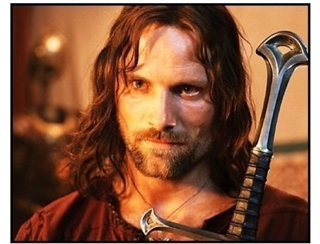 """The Lord of the Rings: The Return of the King"" Movie Still:  Viggo Mortensen"