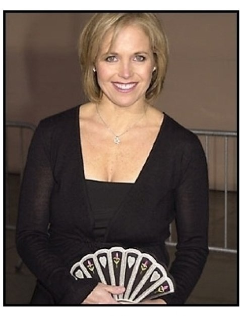 Katie Couric at the 2001 TV Guide Awards