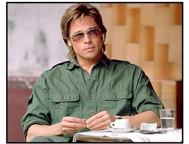 Spy Game movie still: Brad Pitt as Tom Bishop in Spy Game