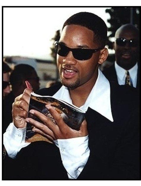 "Will Smith at the ""Men in Black"" premiere"