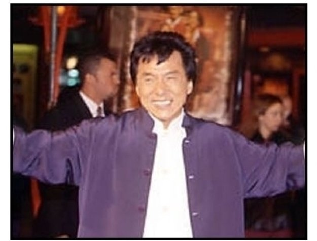 Jackie Chan at The Family Man premiere