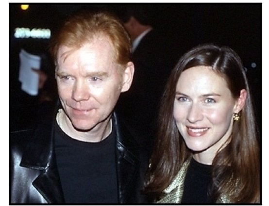 David Caruso and date at the Proof of Life premiere