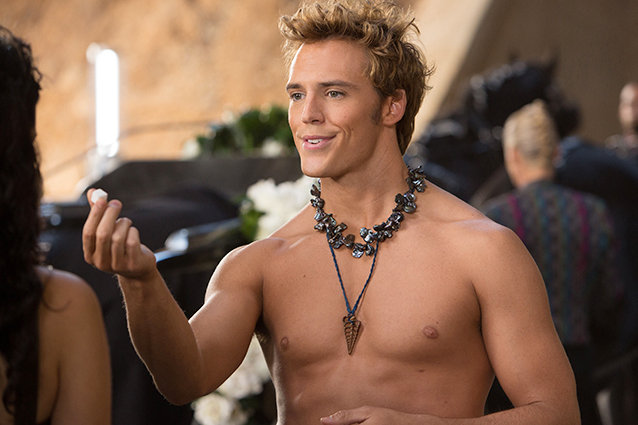 Sam Claflin, Catching Fire