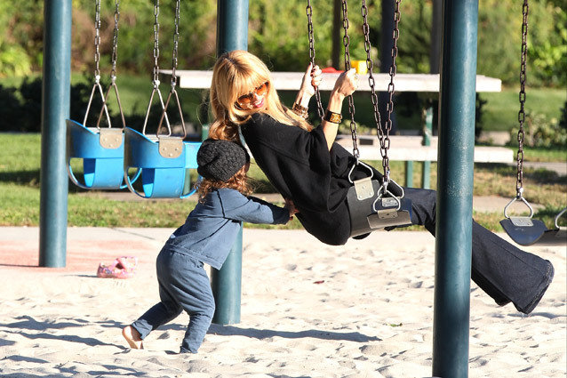 Rachel Zoe and son, Skyler Berman