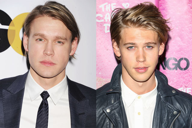 Chord Overstreet and Austin Butler