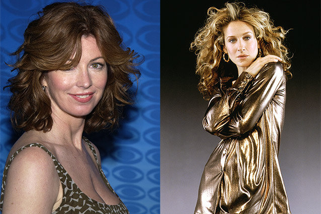 Dana Delany and Sarah Jessica Parker, Sex and The City