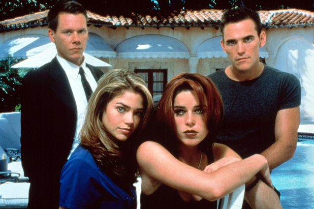 Wild Things, Kevin Bacon, Denise Richards, Neve Campbell and Matt Dillon