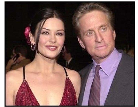 Traffic Premiere: Catherine Zeta-Jones and Michael Douglas at the Traffic premiere