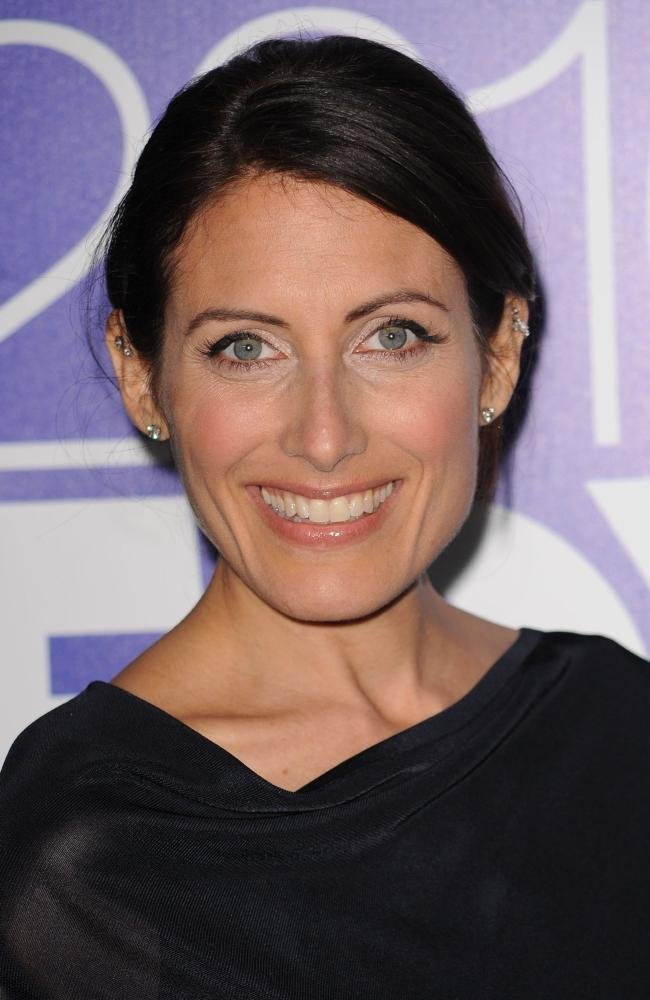 Brassy and beautiful actress Lisa Edelstein had been catching the eye ...
