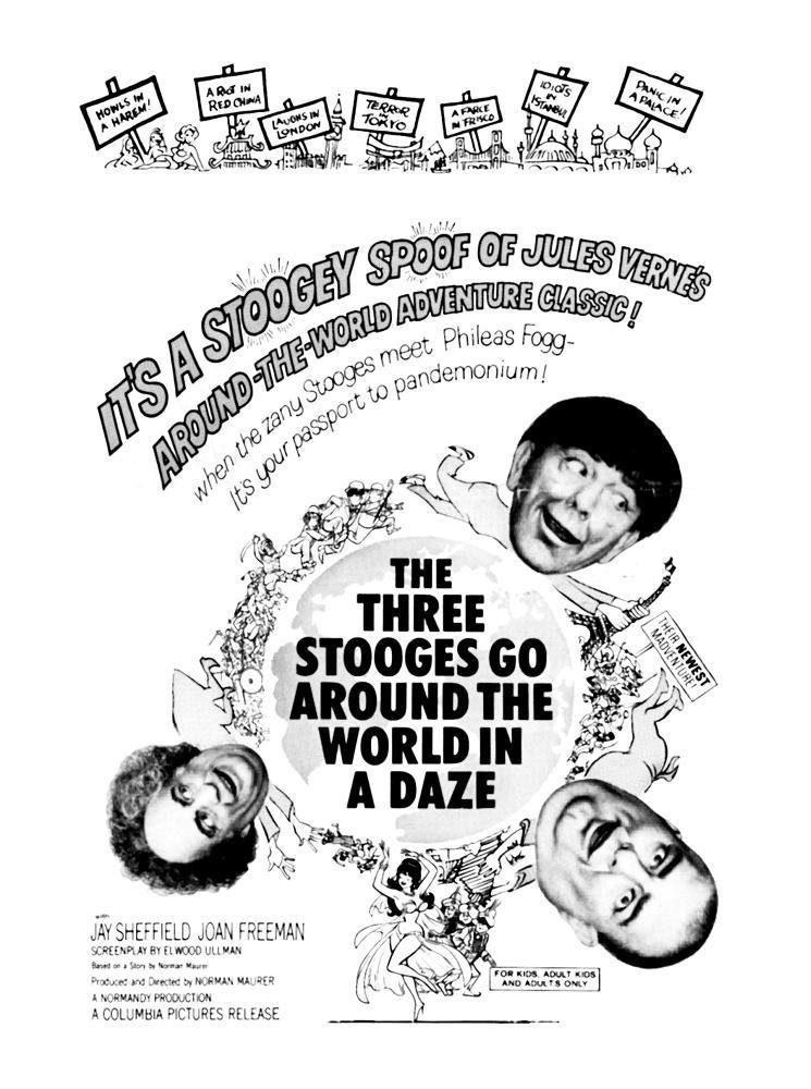 Three Stooges Go Around the World in a Daze